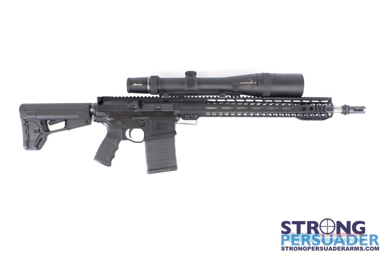 MegaArms 7.62 w/ Burris Eliminator Scope  Guns > Rifles > Barrett Rifles