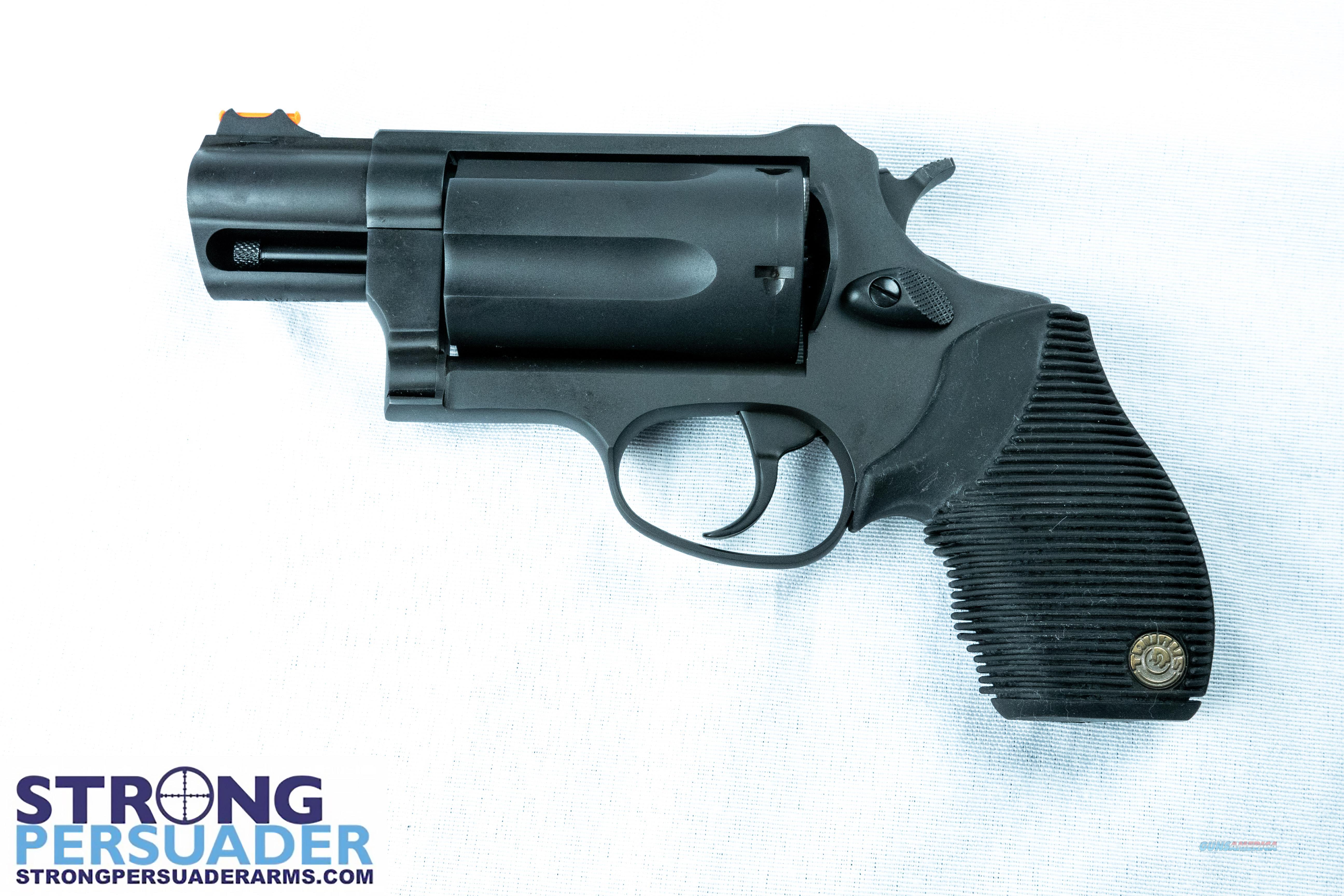 Taurus Public Defender Matte Black Oxide (2-441031TC)  Guns > Pistols > Taurus Pistols > Revolvers
