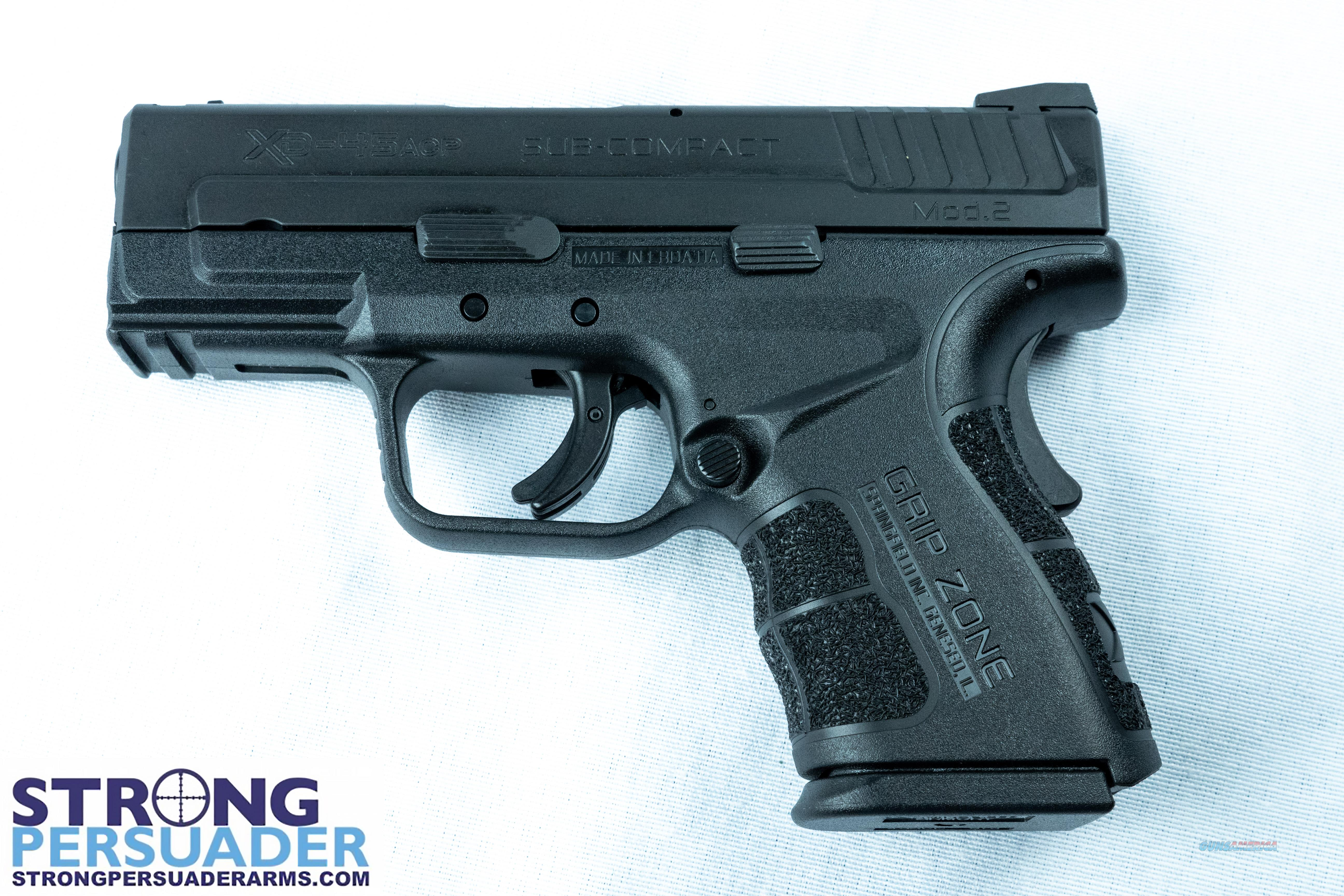 Springfield XD 45 Subcompact Mod 2 (XDG9845BHC)  Guns > Pistols > Springfield Armory Pistols > XD (eXtreme Duty)