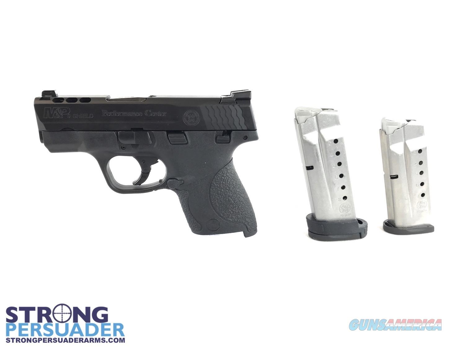 Smith and Wesson Performance Center Ported M&P 9 Shield  Guns > Pistols > Smith & Wesson Pistols - Autos > Shield