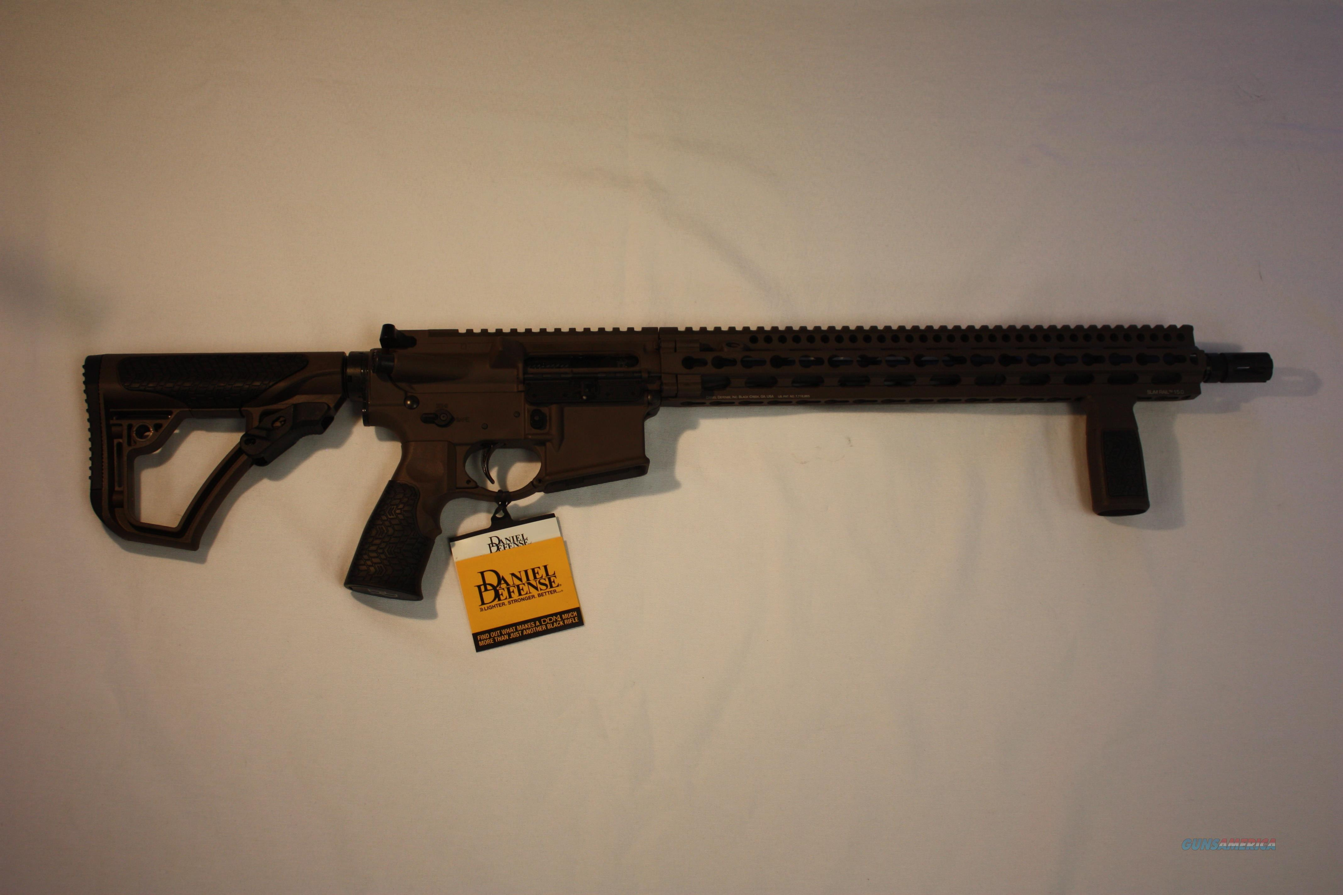 Daniel Defense DDM4 V11 MIL-SPEC + Brown  Guns > Rifles > Daniel Defense > Complete Rifles