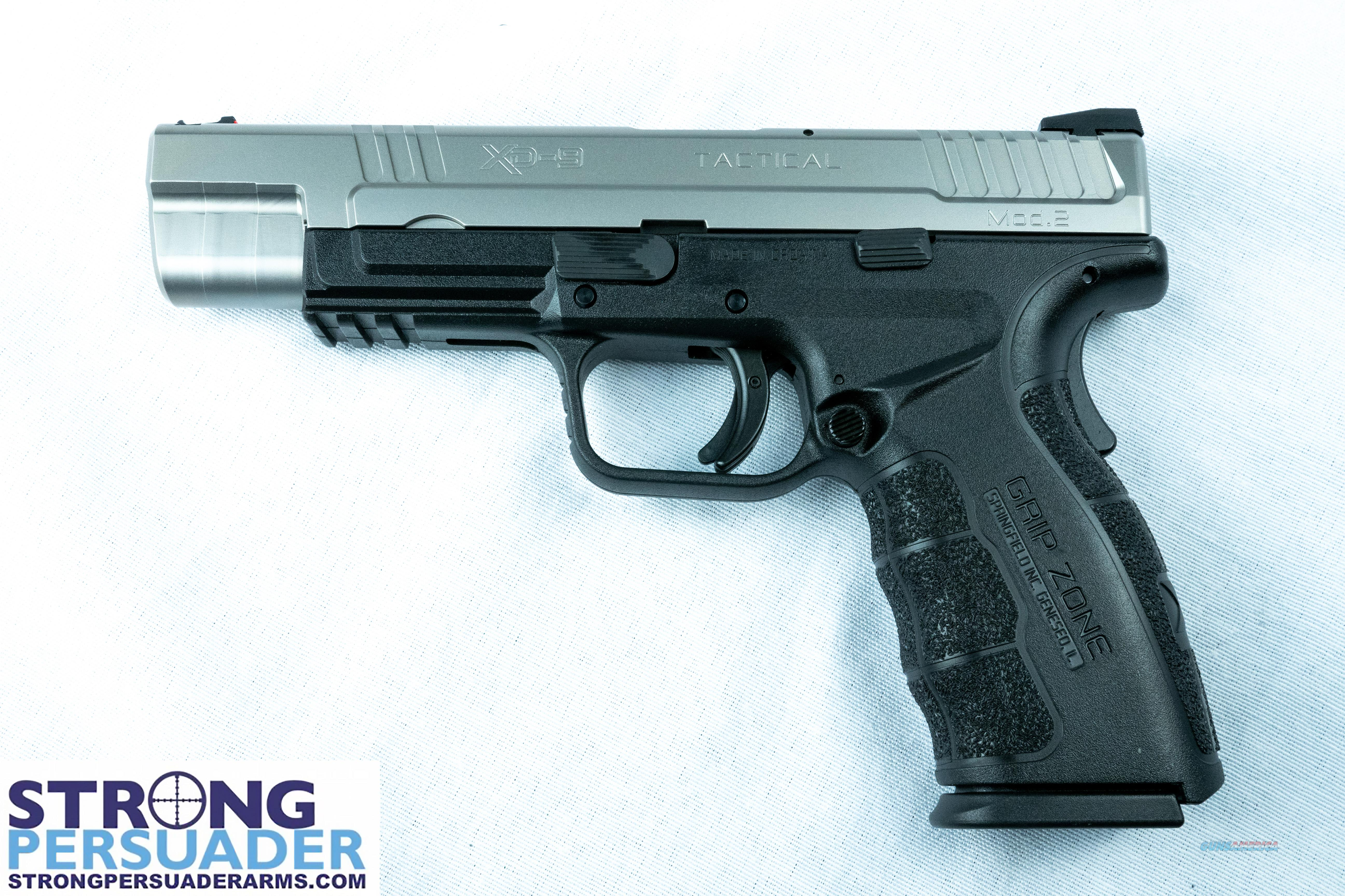 Springfield XD 9 Mod 2 Tactical Two Tone (XDG9401SHC)  Guns > Pistols > Springfield Armory Pistols > XD (eXtreme Duty)