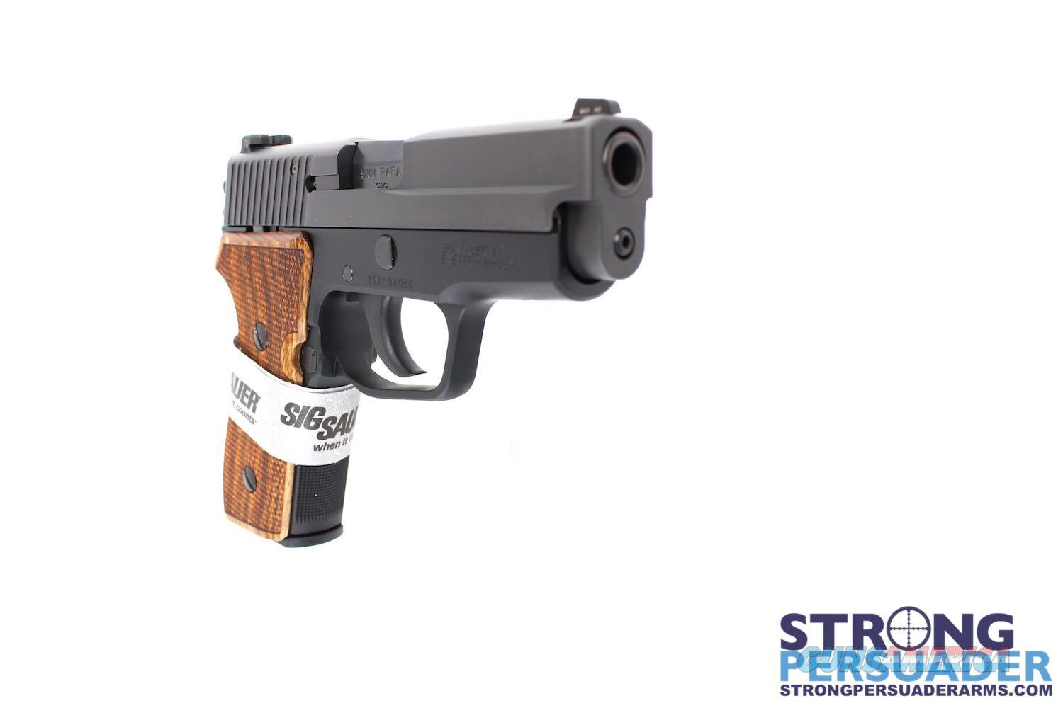 Sig Sauer P225-A1 Nitron with Wood Grips  Guns > Pistols > Sig - Sauer/Sigarms Pistols > P226