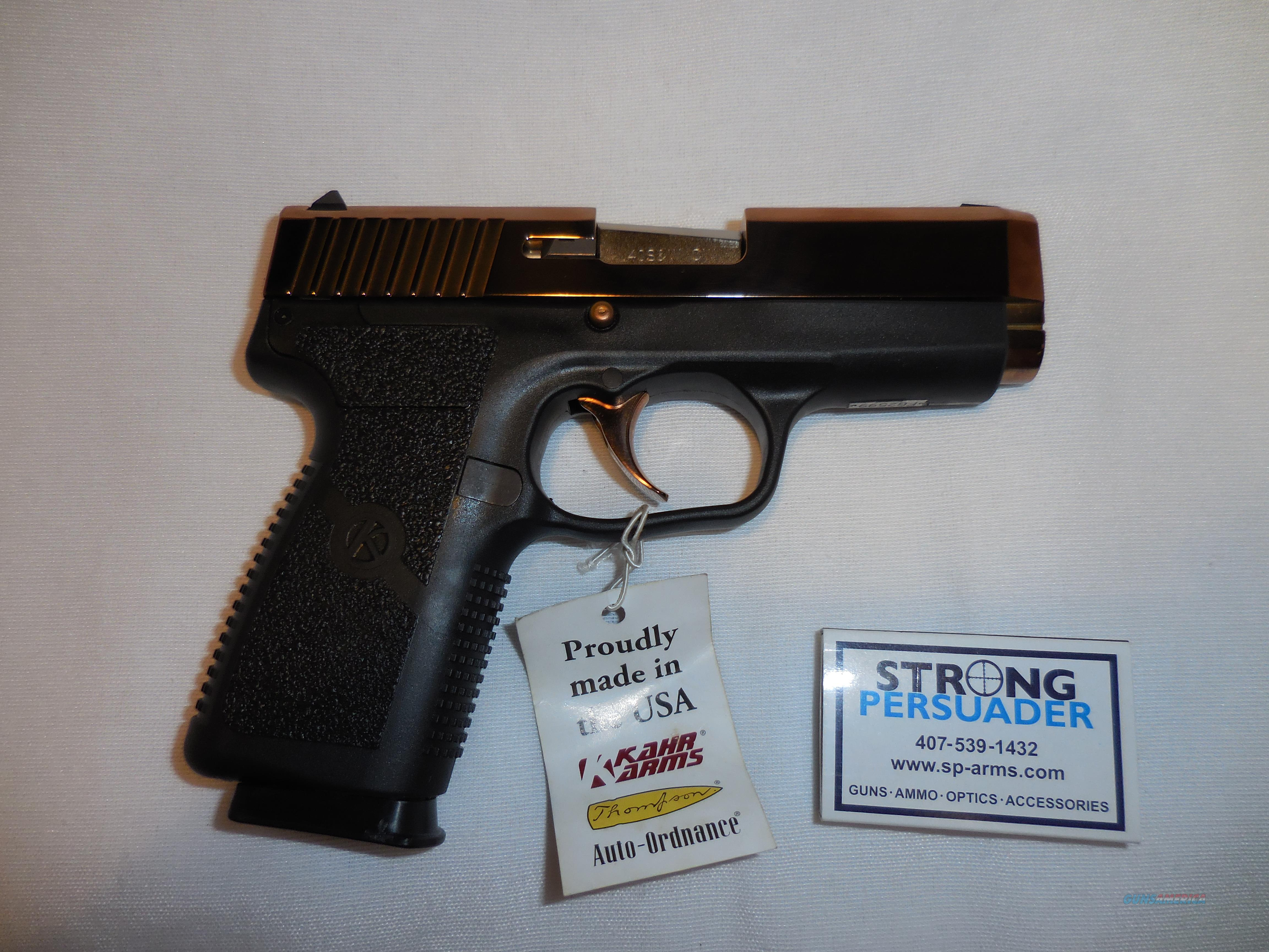 USED Kahr CW 40 Dusty Rose Never Fired  Guns > Pistols > Kahr Pistols
