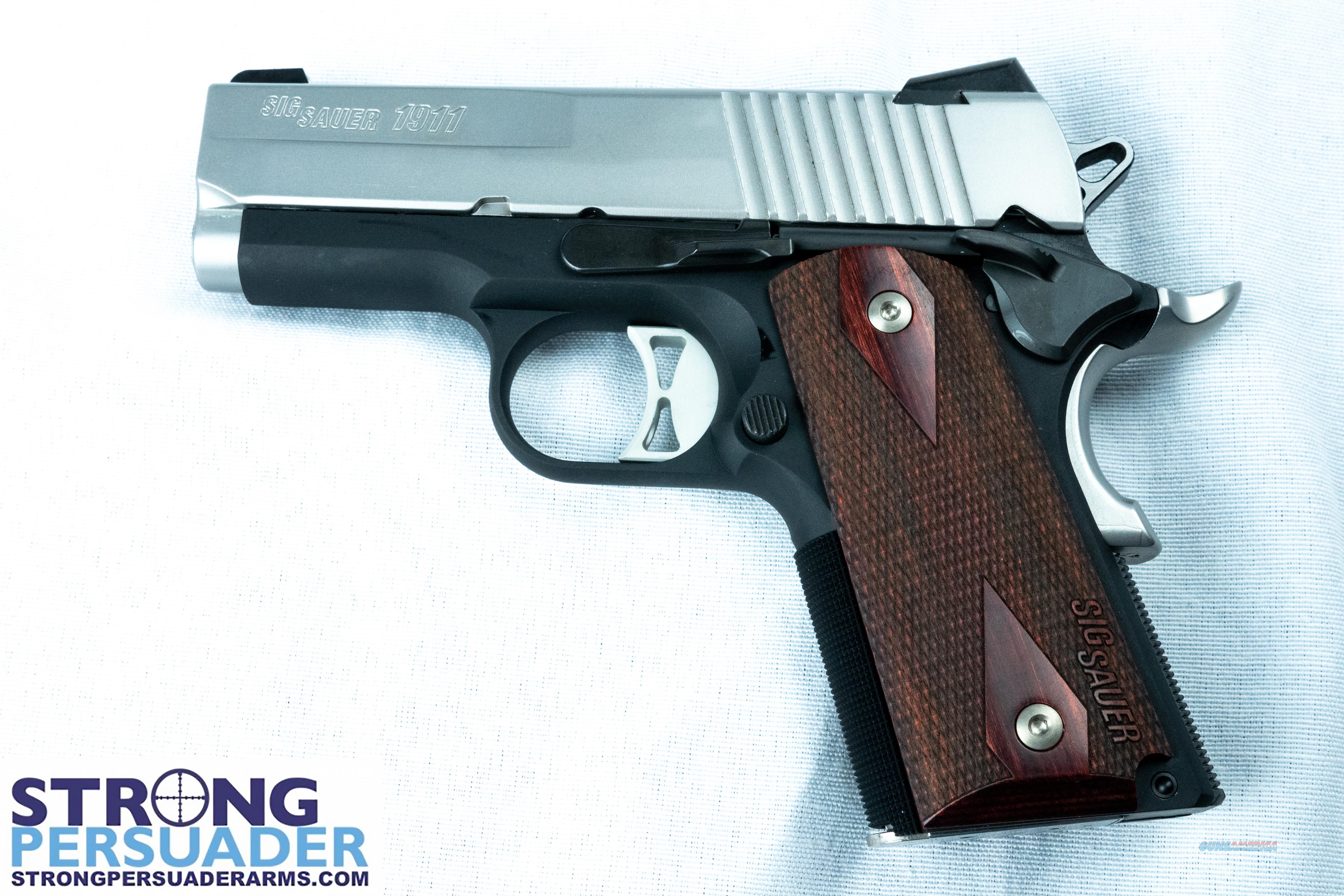 Sig Sauer 1911 Ultra Two-Tone (1911U-45-TSS)  Guns > Pistols > Sig - Sauer/Sigarms Pistols > 1911