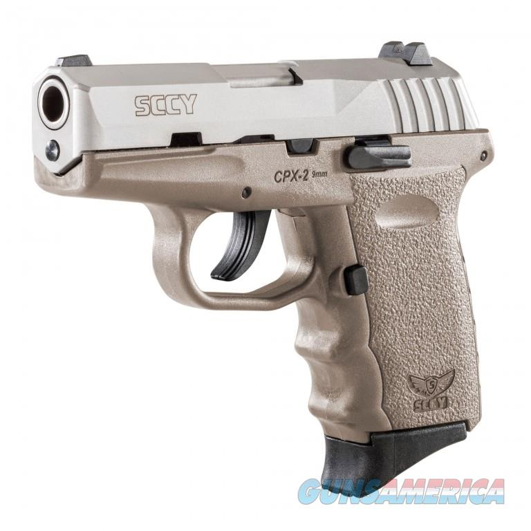 SCCY CPX-2 Gen 2 Two Tone FDE 9mm  Guns > Pistols > SCCY Pistols > CPX2