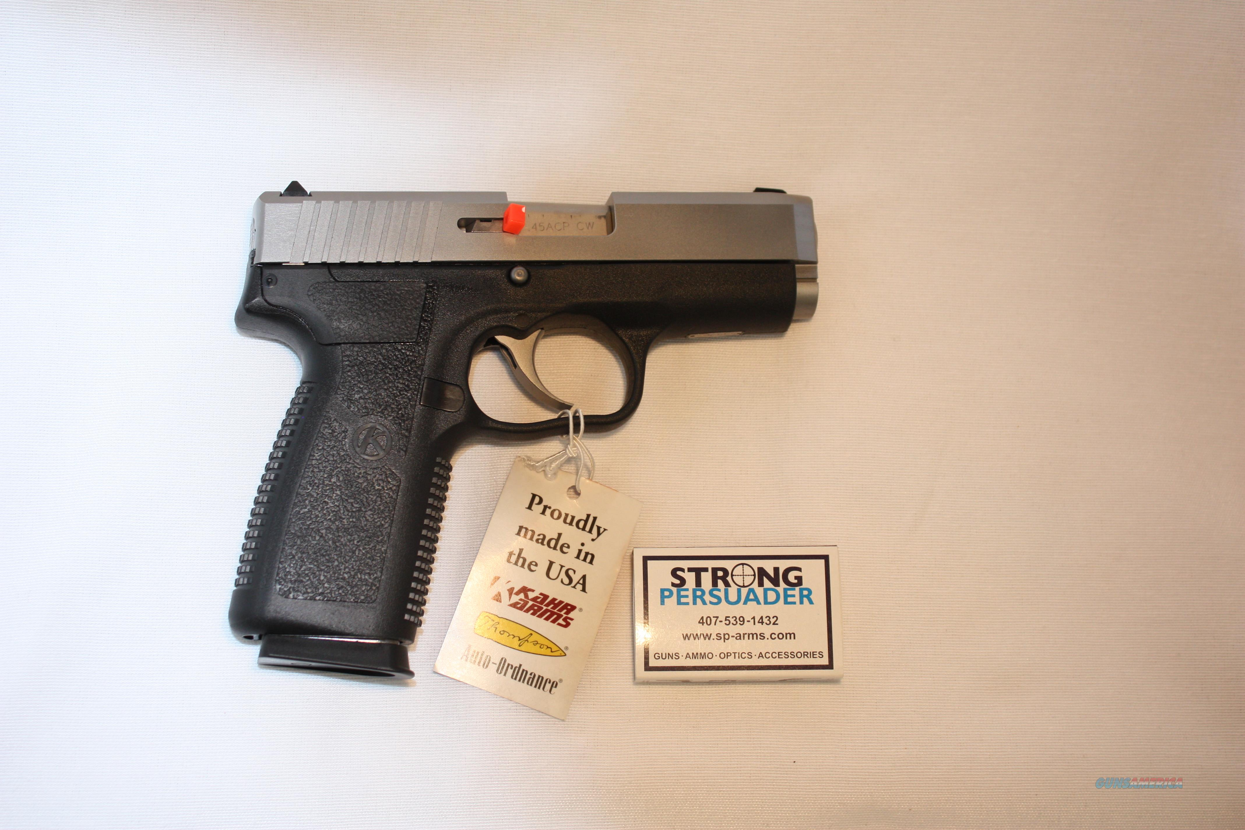 Kahr CW 45 CW45 Two Tone Never Fired  Guns > Pistols > Kahr Pistols