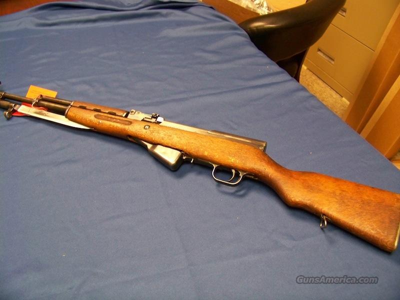 SKS Assault Rifle w/ Bayonet (GM3492 matching numbers)  Guns > Rifles > SKS Rifles
