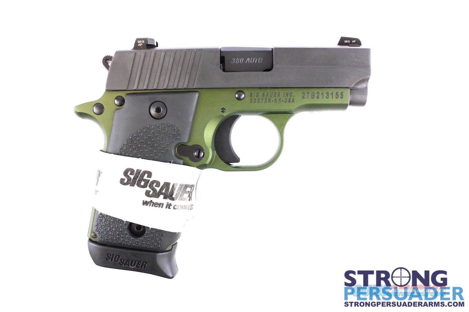 Sig Sauer P238 Army Green  Guns > Pistols > Sig - Sauer/Sigarms Pistols > P238