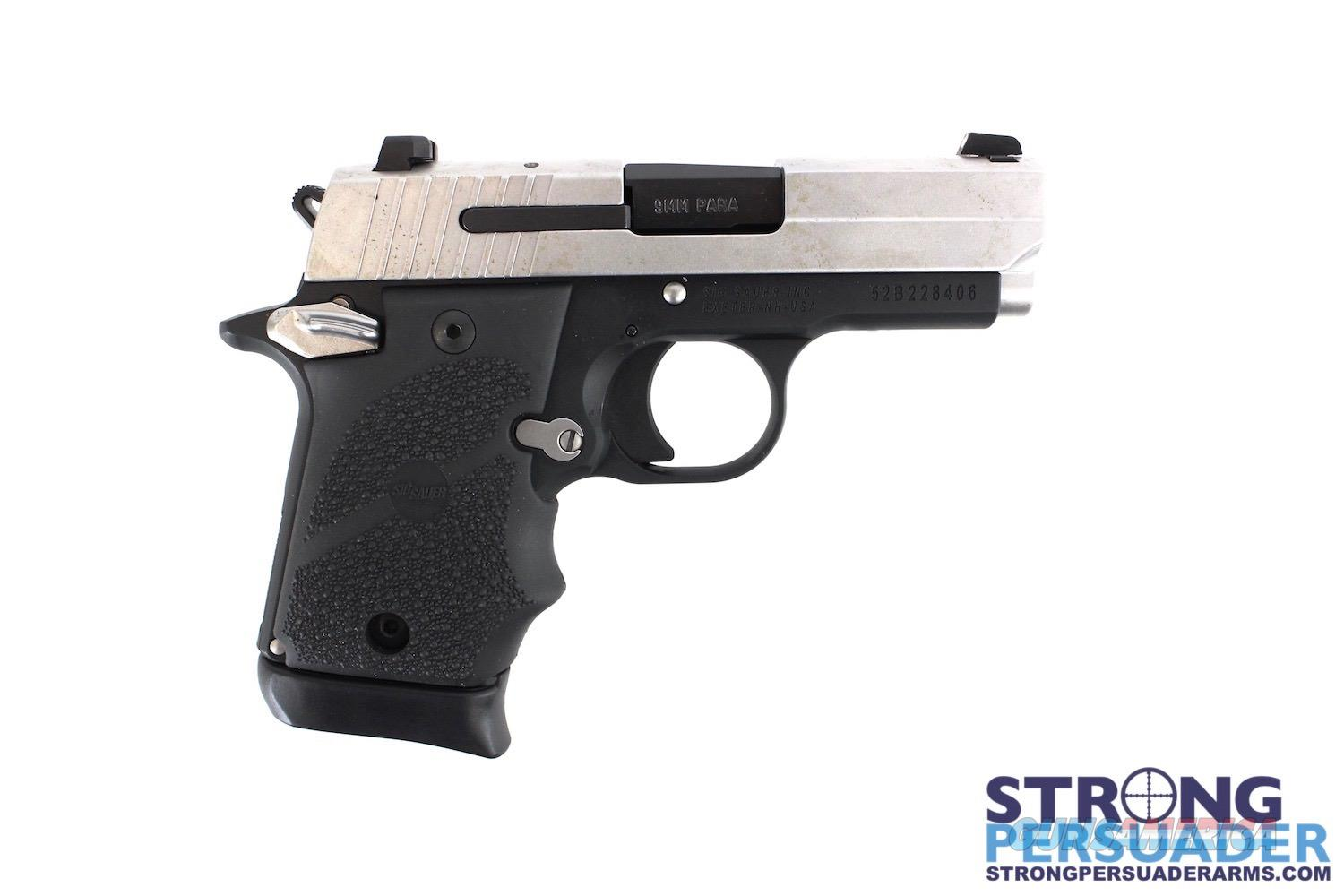Sig Sauer P938 Two Tone VRL 9mm  Guns > Pistols > Sig - Sauer/Sigarms Pistols > P938