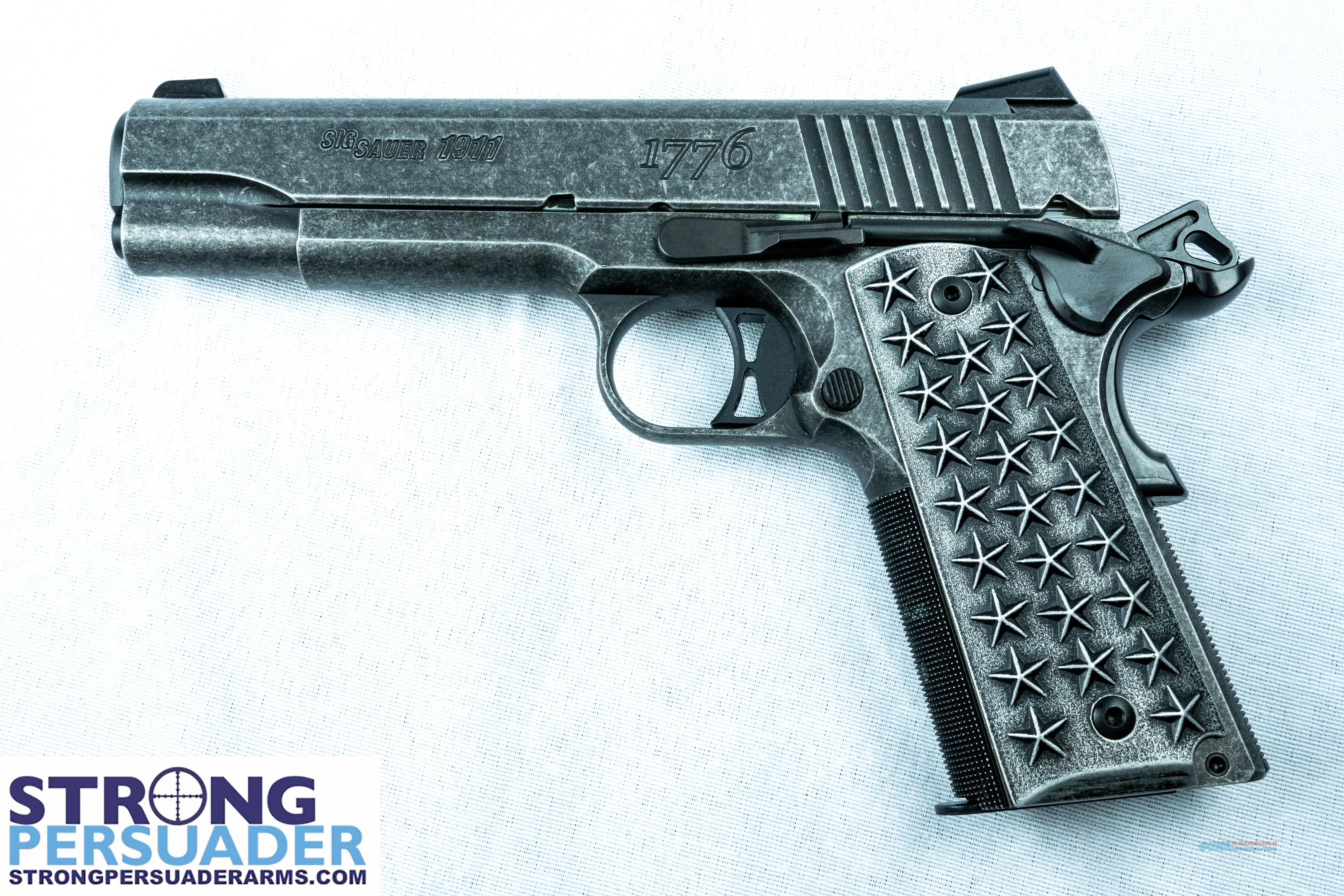 Sig Sauer 1911 We The People  (1911T-45-WTP)  Guns > Pistols > Sig - Sauer/Sigarms Pistols > 1911