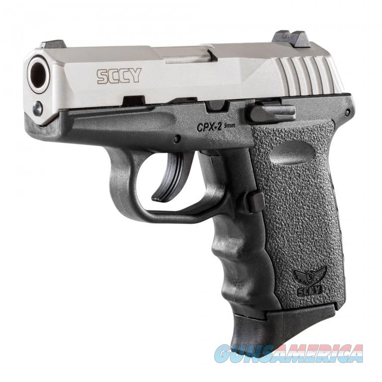 SCCY CPX-2 Gen 2 Two Tone 9mm  Guns > Pistols > SCCY Pistols > CPX2