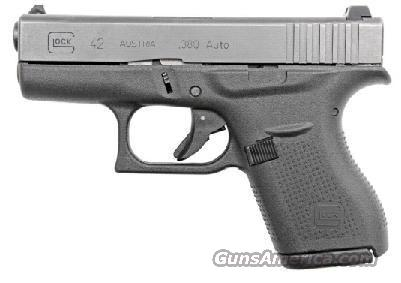 Glock 42  G42 .380 ACP  Guns > Pistols > Glock Pistols > 42