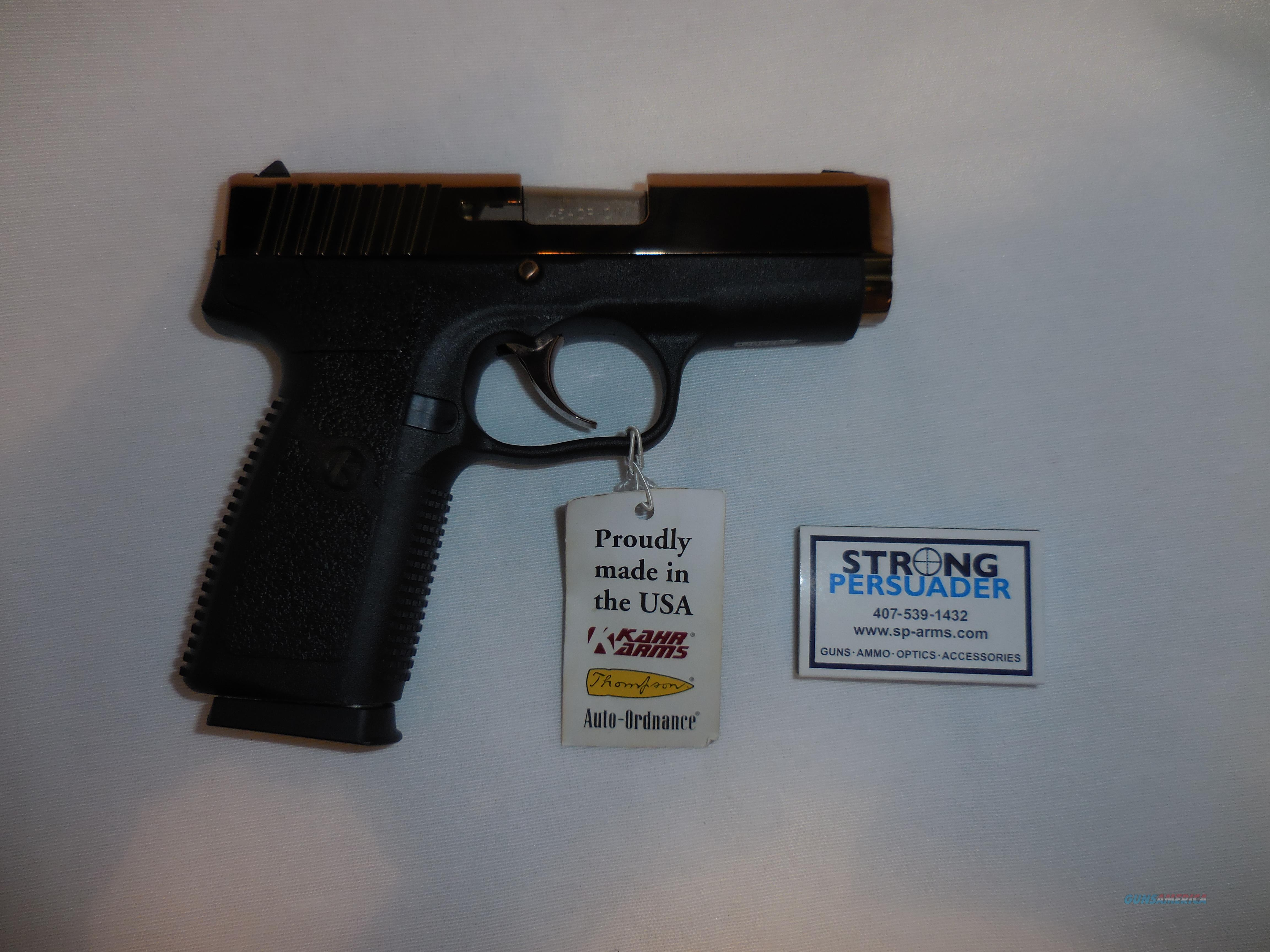 USED Kahr CW 45 Dusty Rose Never Fired  Guns > Pistols > Kahr Pistols