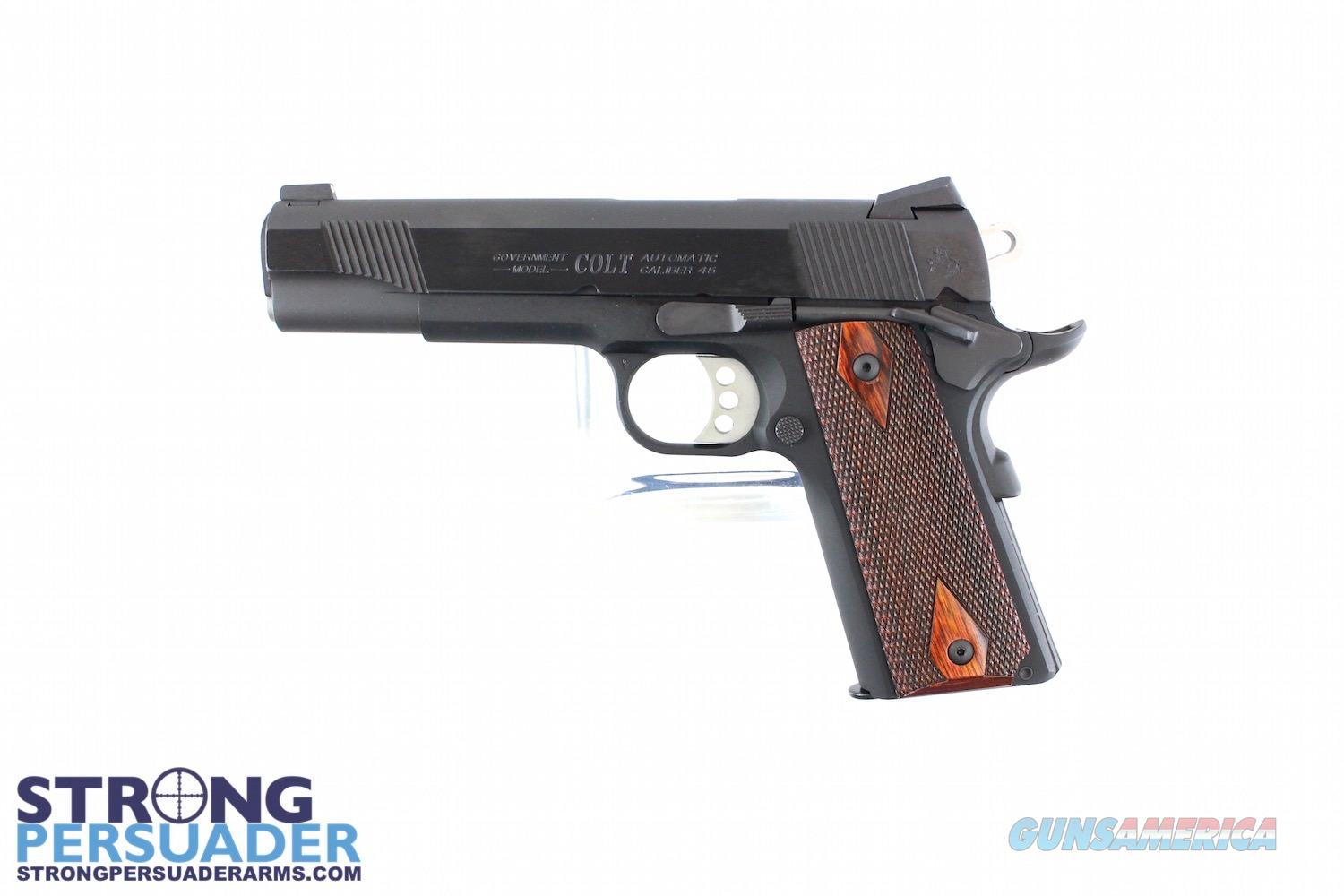 Colt XSE Government Lightweight Blued .45  Guns > Pistols > Colt Automatic Pistols (1911 & Var)