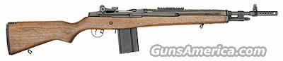 Springfield Armory M1A Scout Squad (Walnut/Blued)  Guns > Rifles > Springfield Armory Rifles > M1A/M14