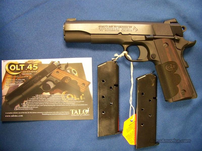Colt Wiley Clapp Government Model 1911  Guns > Pistols > Colt Automatic Pistols (1911 & Var)