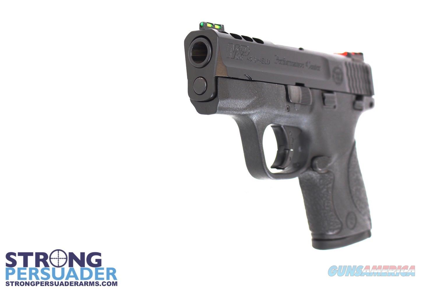 Smith & Wesson Performance Center Ported M&P 40 Shield  Guns > Pistols > Smith & Wesson Pistols - Autos > Shield
