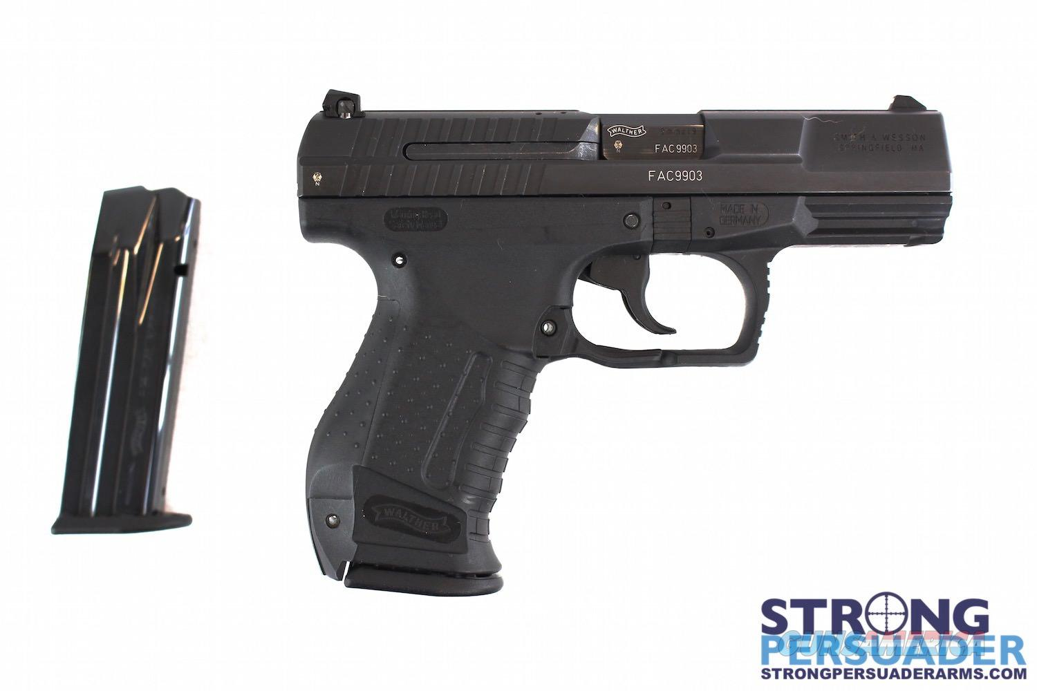 USED Walther P99 QA 9mm  Guns > Pistols > Walther Pistols > Post WWII > P99/PPQ
