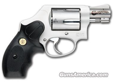 Smith and Wesson M637 Performance Center Wyatt Deep Cover Gunsmoke Revolver (Glass Beaded Stainless/Black Grips)  Guns > Pistols > Smith & Wesson Revolvers > Full Frame Revolver