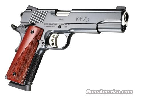 Remington 1911 R1 Carry Commander Satin Black/Wood .45ACP  Guns > Pistols > Remington Pistols - Modern
