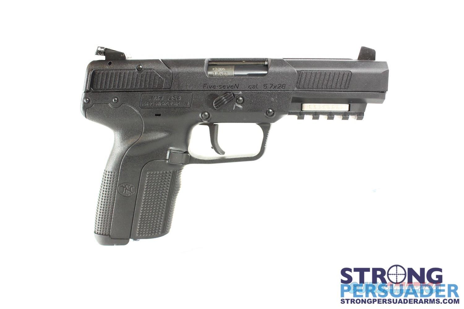 Fn Herstal Five Seven  MK II 5.7 x 28 Black - 3 mags - Adj Sights  Guns > Pistols > FNH - Fabrique Nationale (FN) Pistols > FiveSeven