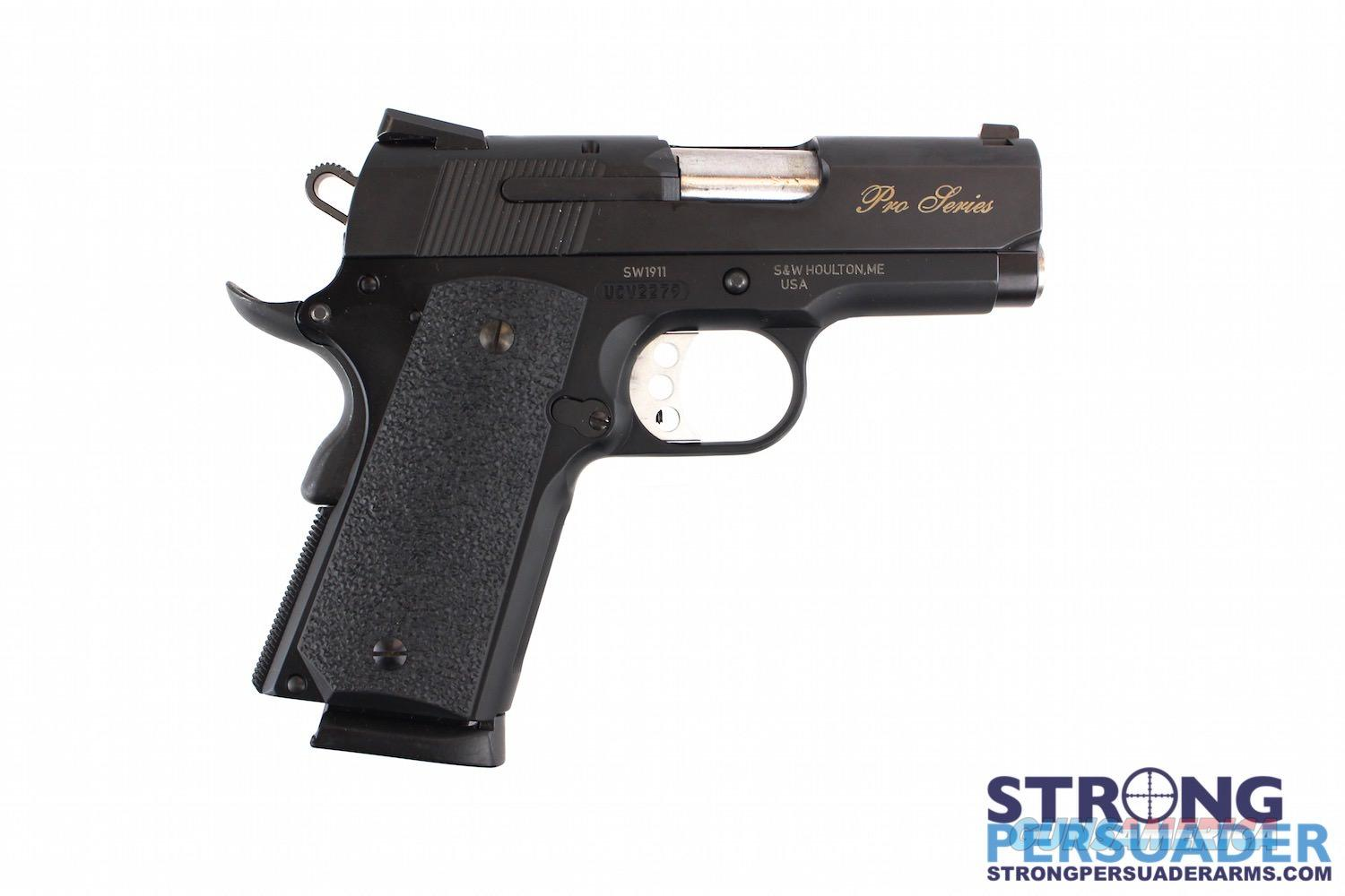 Smith & Wesson SW1911 Pro Series Sub-Compact  Guns > Pistols > Smith & Wesson Pistols - Autos > Alloy Frame