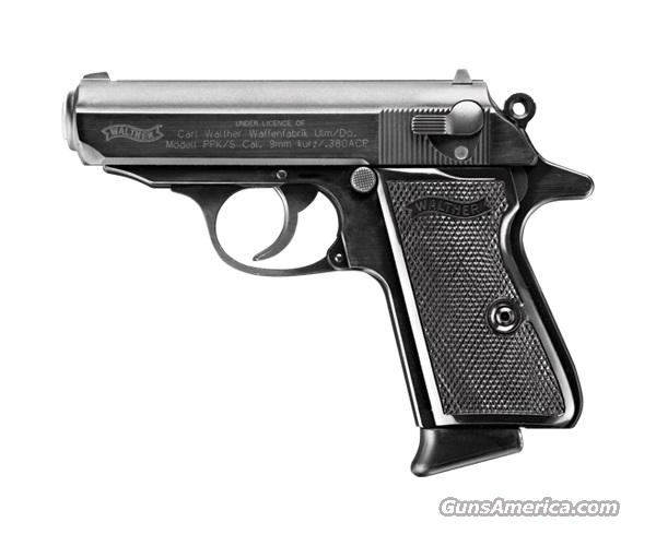 WALTHER PPK/S BLUED 380ACP  Guns > Pistols > Walther Pistols > Post WWII > PPK Series