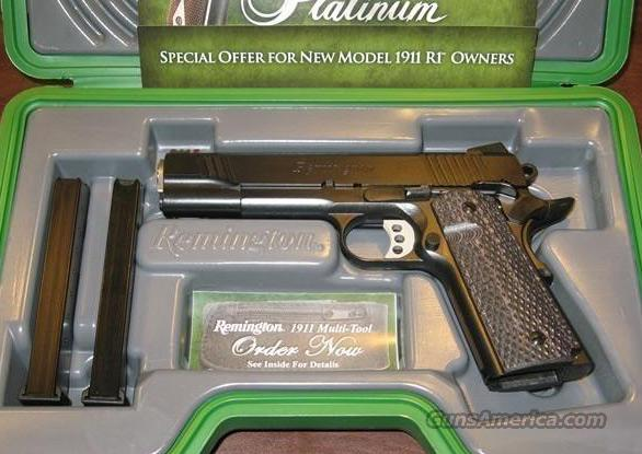 Remington R1 1911 Enhanced New  Guns > Pistols > Remington Pistols - Modern