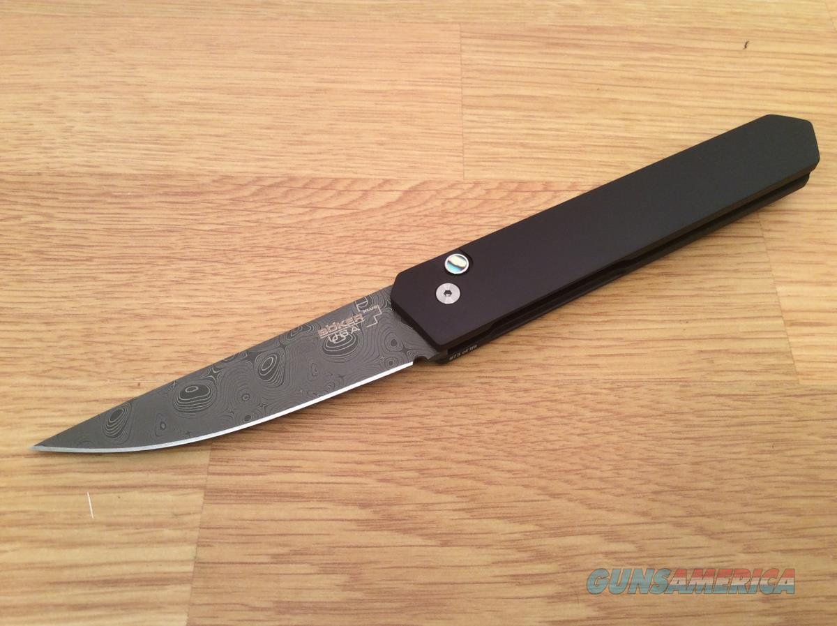 Boker Kwaiken Damascus Auto, Limited Edition  Non-Guns > Knives/Swords > Knives > Folding Blade > Hand Made