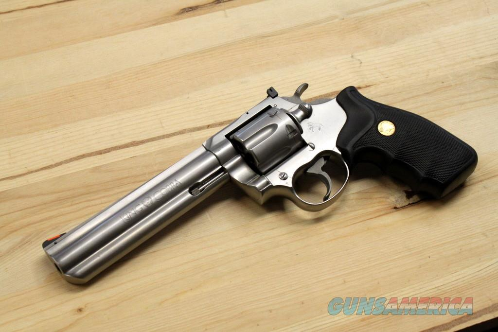 Colt King Cobra, 6 inch 357 Mag, Nice Used Gun - Sale  Guns > Pistols > Colt Double Action Revolvers- Modern