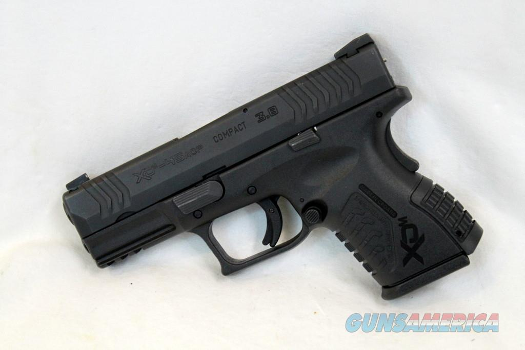 Springfield  XD-M, Compact 3.8, 45 ACP Like New With Accessories  Guns > Pistols > Springfield Armory Pistols > XD-M