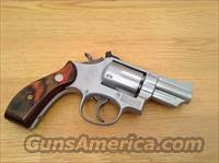S&W Model 19-3, snub, 357 mag, Hard Chrome  Guns > Pistols > Smith & Wesson Revolvers > Full Frame Revolver