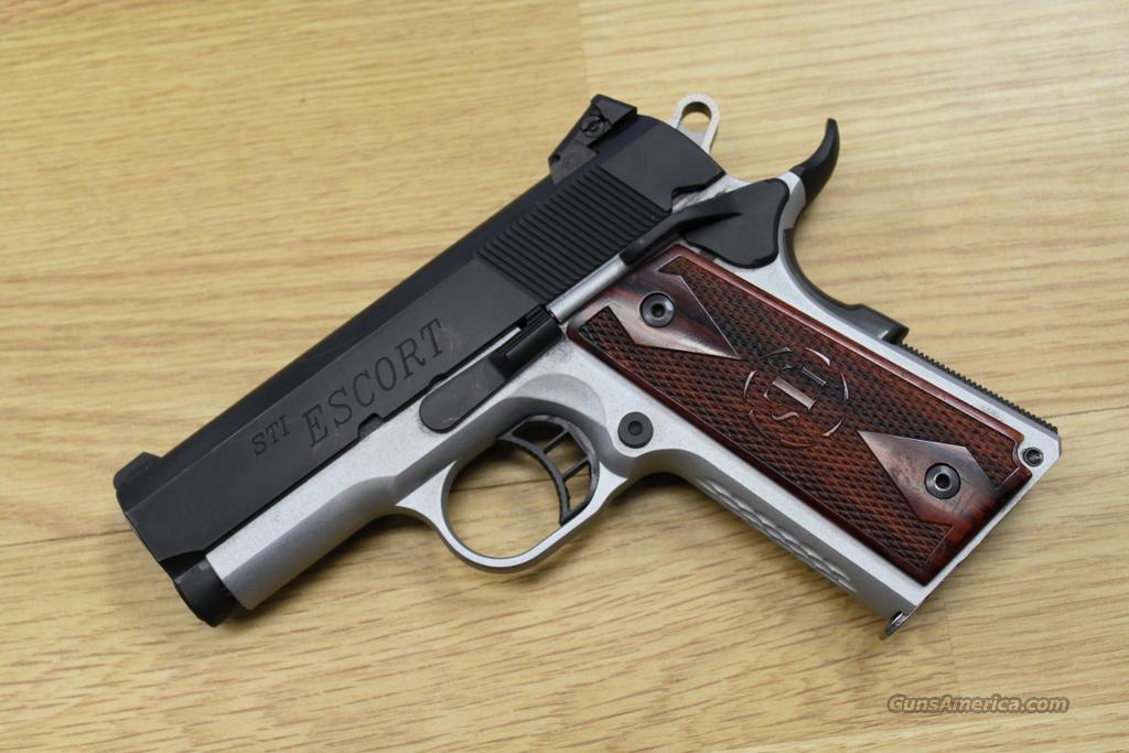 Sti For Sale >> STI Escort 9mm, Compact 1911 for sale