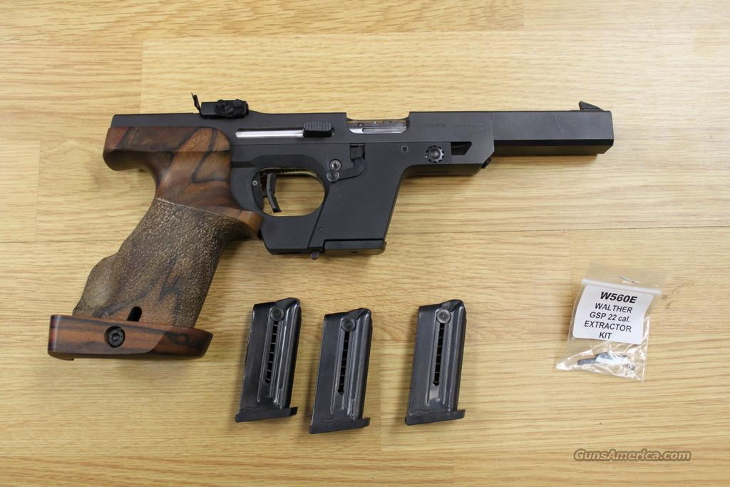 Walther GSP 22 Target Pistol, Great Shape  Guns > Pistols > Walther Pistols > Post WWII > Target Pistols