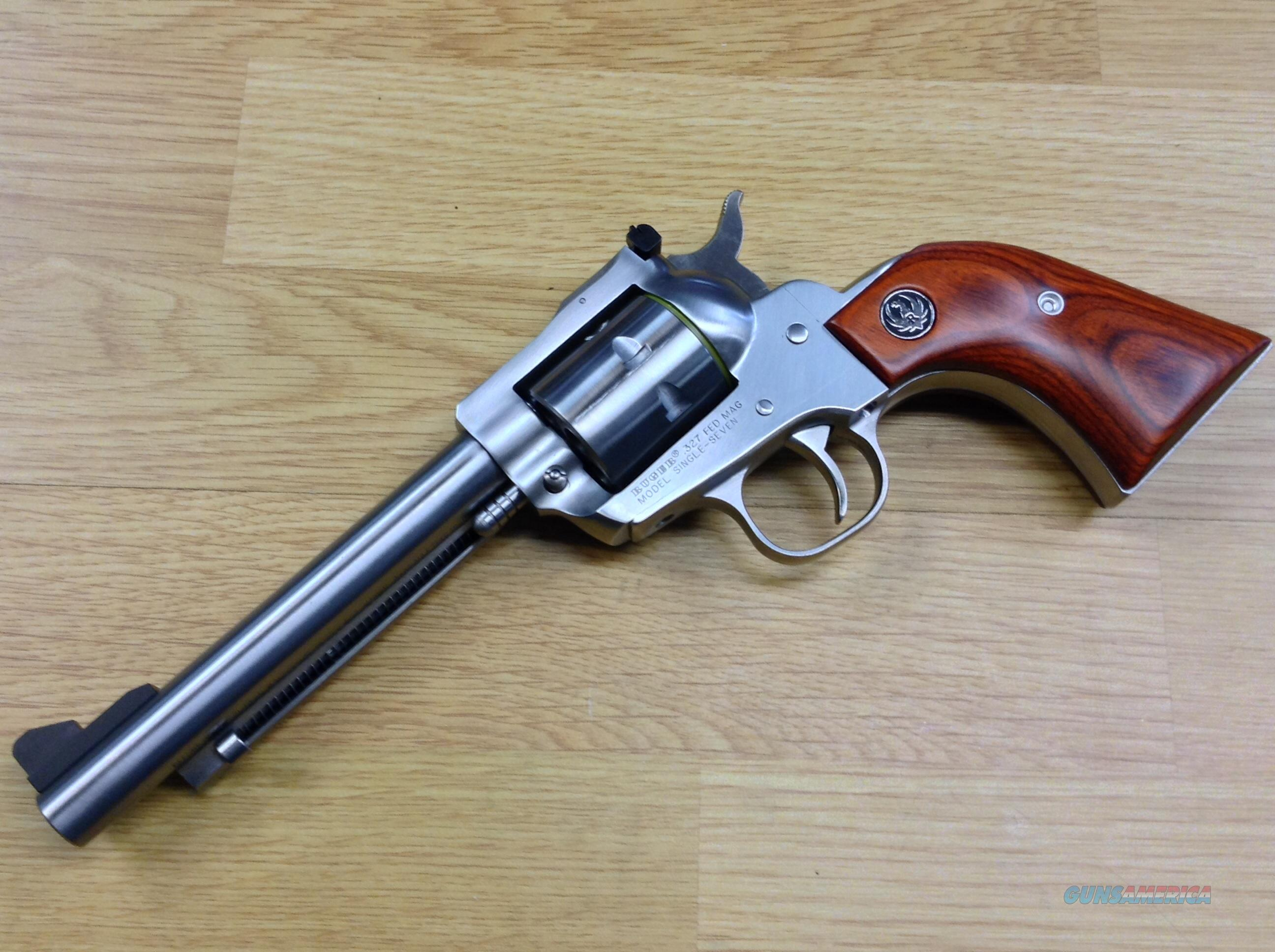Ruger Single Seven, 327 Federal, 7 shot  Guns > Pistols > Ruger Single Action Revolvers > Single Six Type