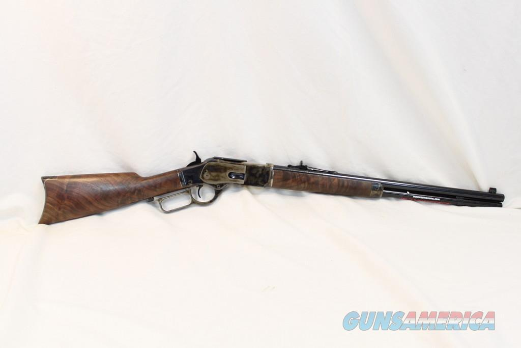 Winchester 1873 Grade III Carbine, 357 mag, NIB, Nice Wood  Guns > Rifles > Winchester Replica Rifle Misc.
