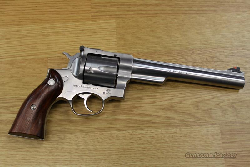 Ruger Redhawk 44 mag, 7.5 inch bbl  Guns > Pistols > Ruger Double Action Revolver > Redhawk Type