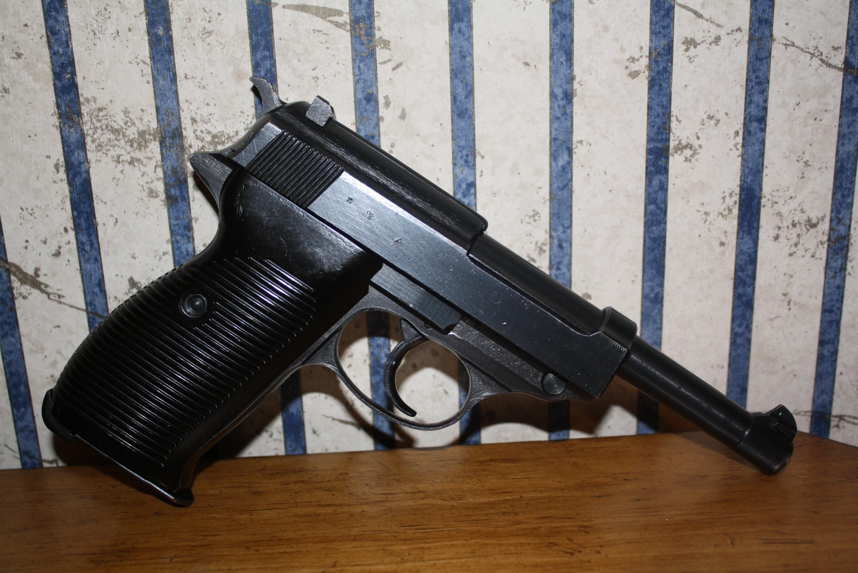Walther P-38 cyq (Spreewerke) Production  Guns > Pistols > Walther Pistols > Pre-1945 > P-38
