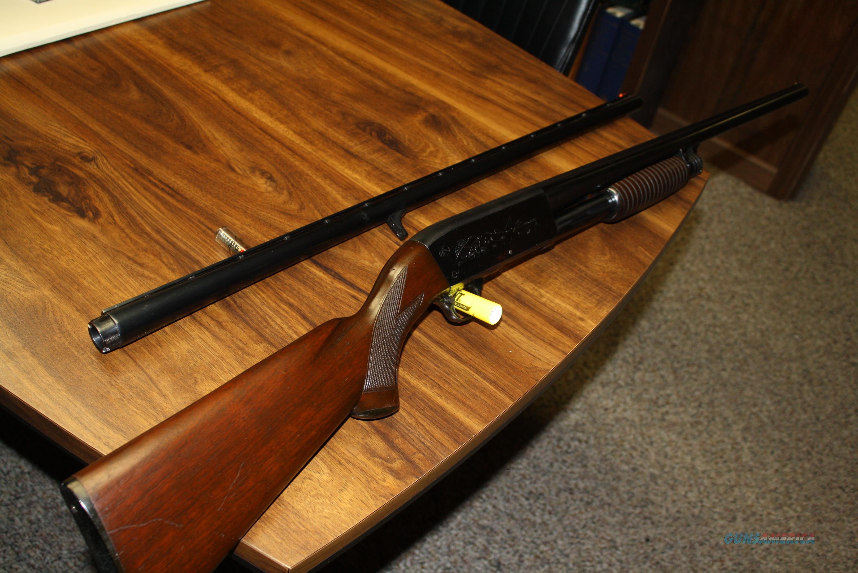 ITHACA M37 SOLID RIB TWO BARREL SET  Guns > Shotguns > Ithaca Shotguns > Pump