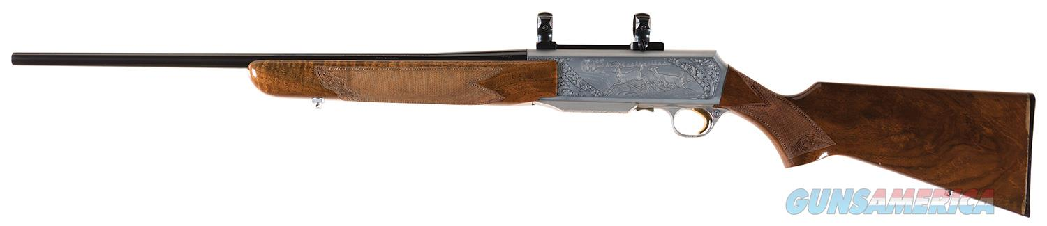 "Master Engraved ""VRANCKEN"" Signed Belgian Browning Grade IV BAR Semi-Automatic Sporting Rifle with Scope Base and Rings   Guns > Rifles > Browning Rifles > Semi Auto > Hunting"