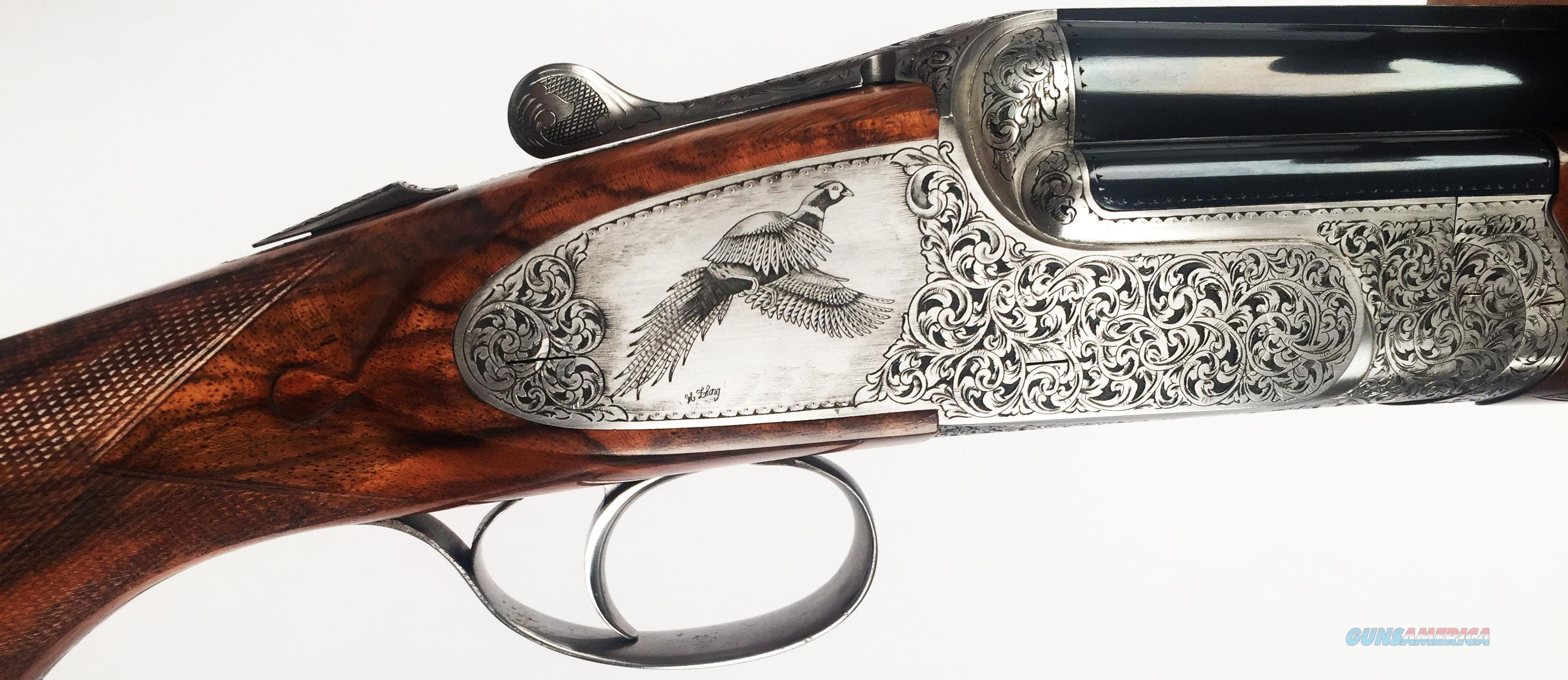 "FAMARS Sovereign Sidelocks 12 gauge with 32"" Chopperlump Barrels  Guns > Shotguns > Famars Shotguns"