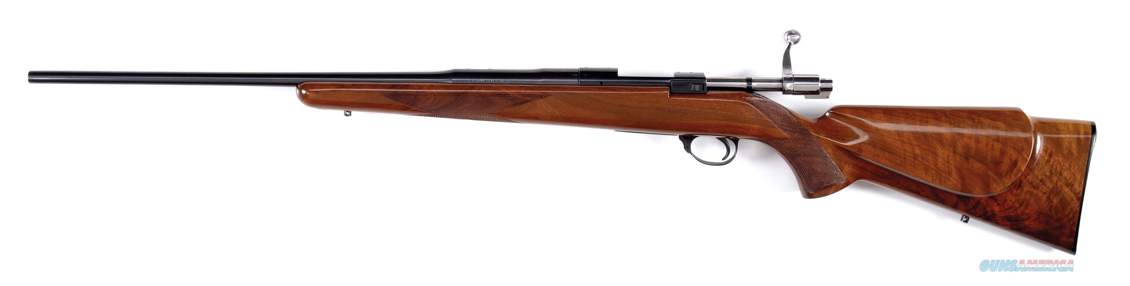 BROWNING SAFARI MODEL BOLT ACTION RIFLE WITH HIGHLY FIGURED CHECKERED STOCK .222 Cal   Guns > Rifles > Browning Rifles > Bolt Action > Hunting > Blue