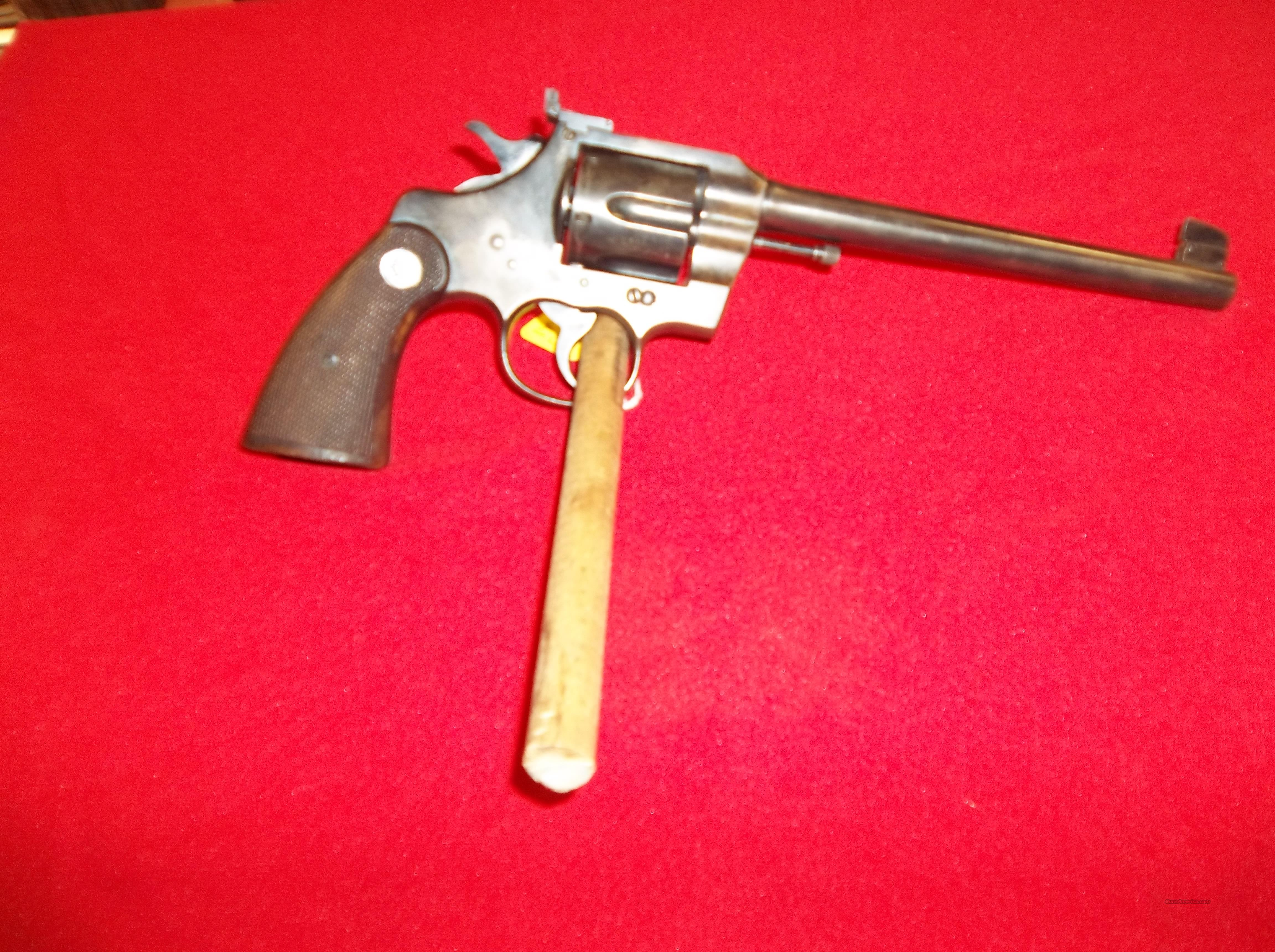 Colt Officcers 38 1935  Guns > Pistols > Colt Double Action Revolvers- Pre-1945