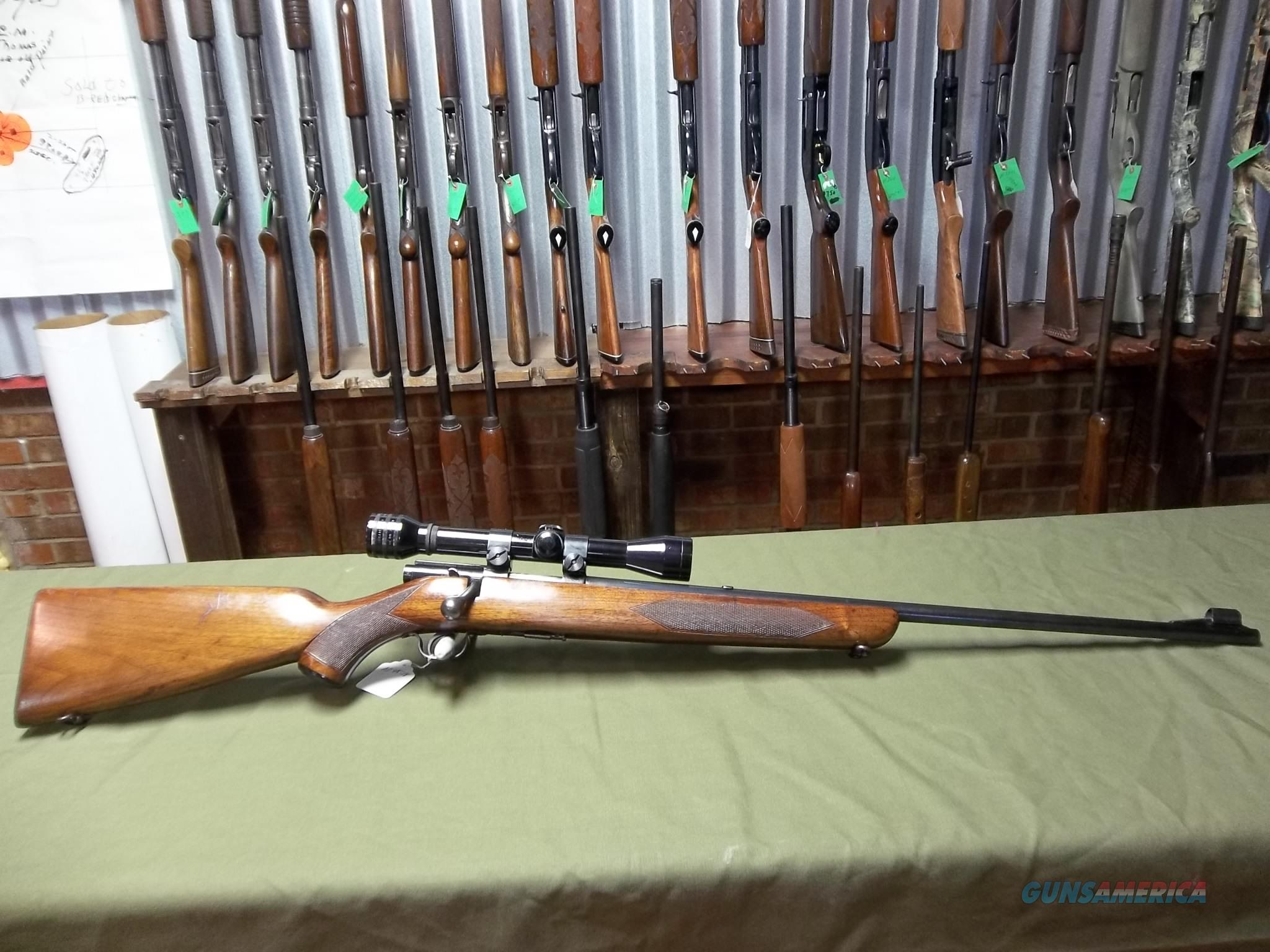 Winchester Model 43 Deluxe 22 Hornet  Guns > Rifles > Winchester Rifles - Modern Bolt/Auto/Single > Other Bolt Action