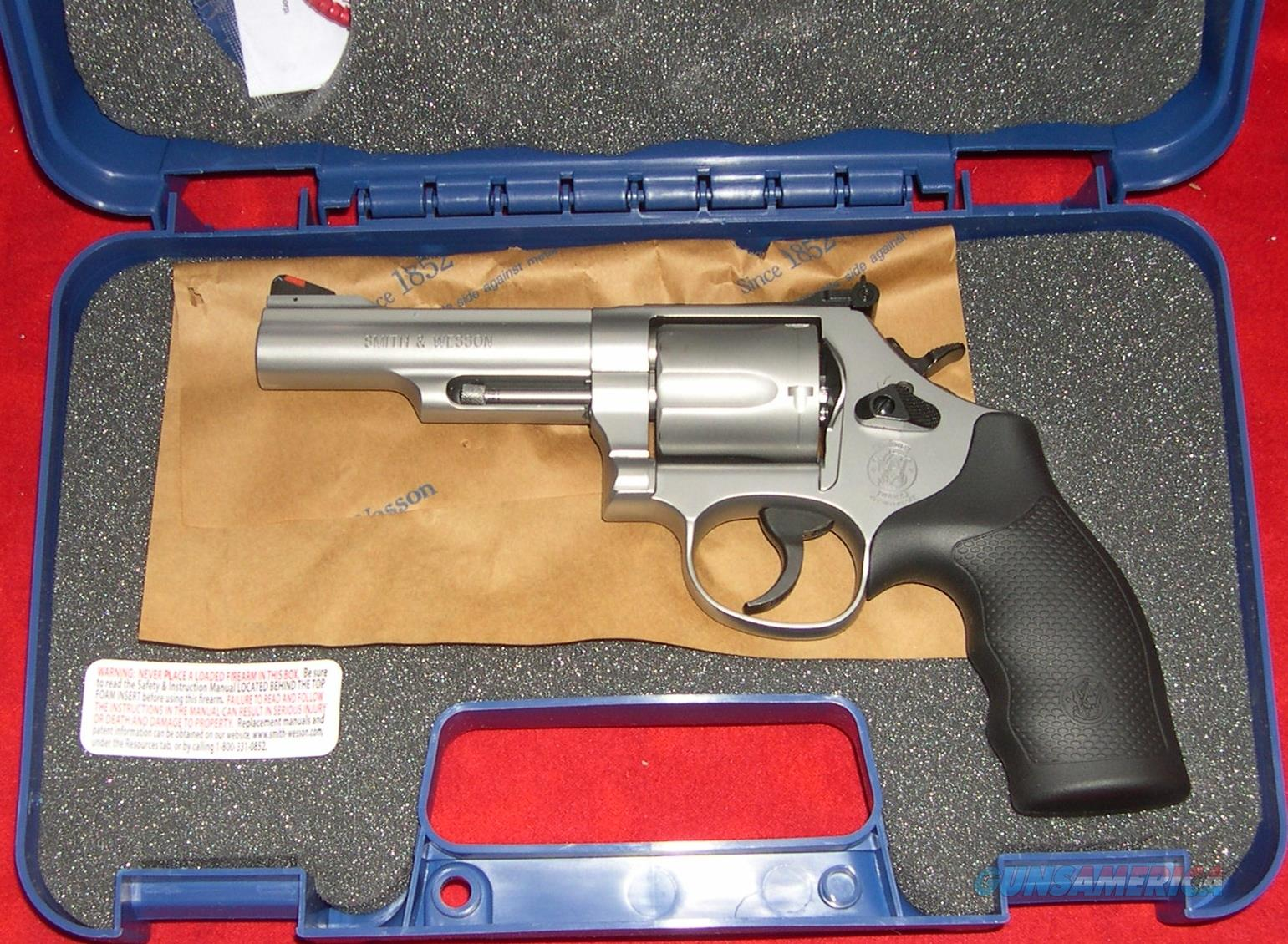 Smith & Wesson Model 69 44 Mag Stainless Steel 5 shot  Guns > Pistols > Smith & Wesson Revolvers > Full Frame Revolver