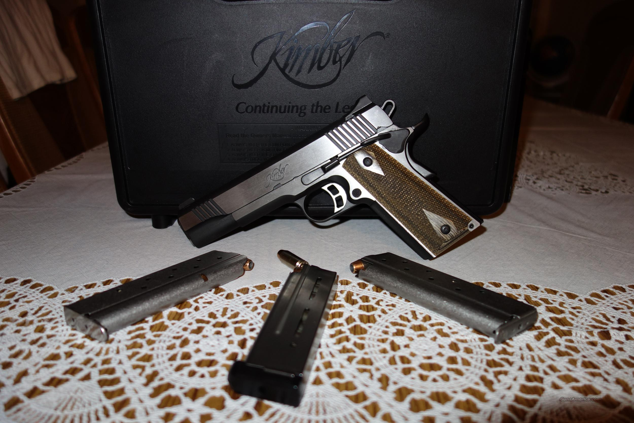Kimber Eclipse Custom II 10mm 3 mags  Guns > Pistols > Kimber of America Pistols