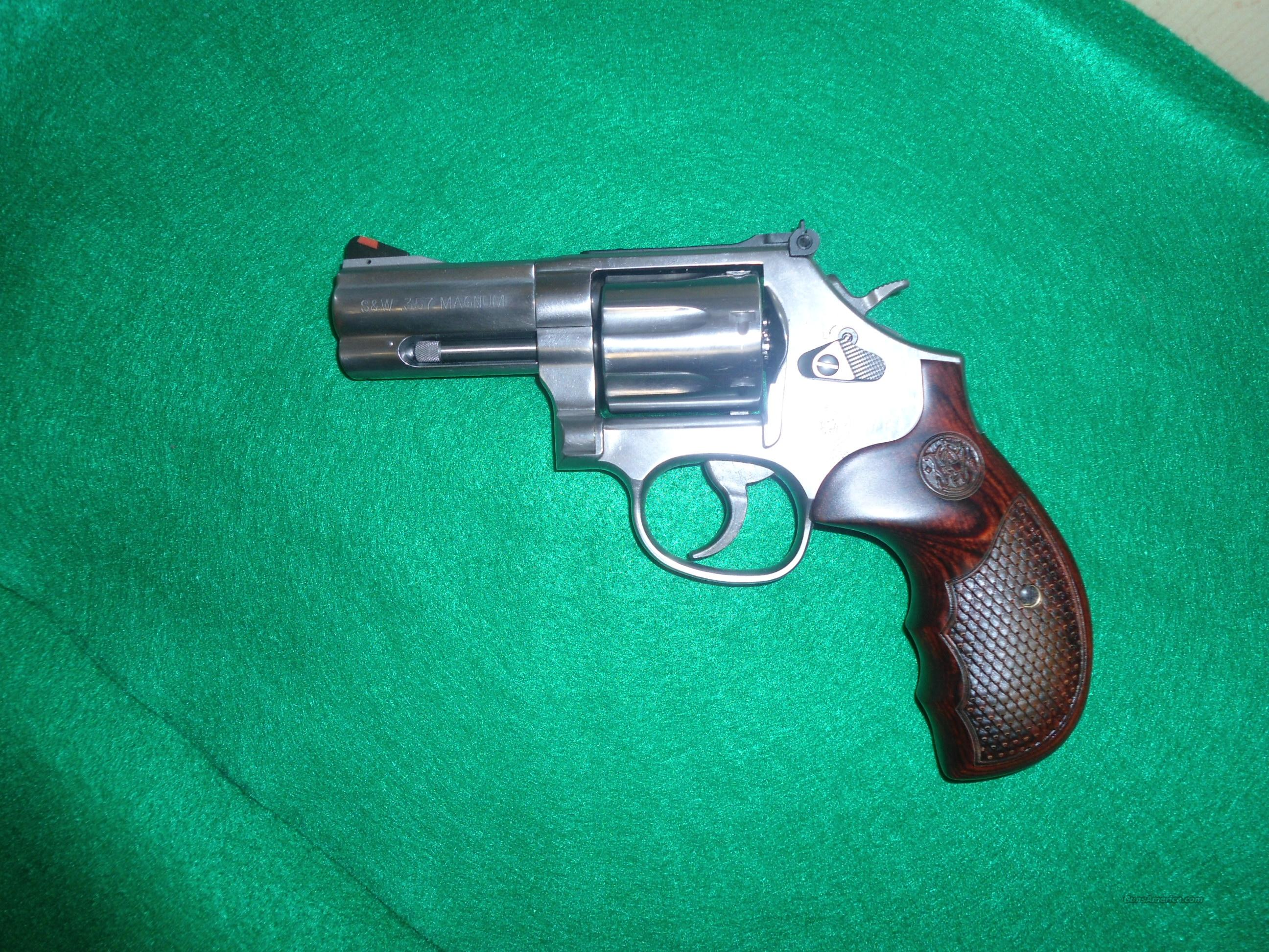 SMITH AND WESSON 686 DELUXE  Guns > Pistols > Smith & Wesson Revolvers > Full Frame Revolver