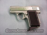 AMT – Caliber .380, 9mm KURZ – Back Up, EL MONTE, CALIF., Stainless – Made in USA  Guns > Pistols > AMT Pistols > Double Action