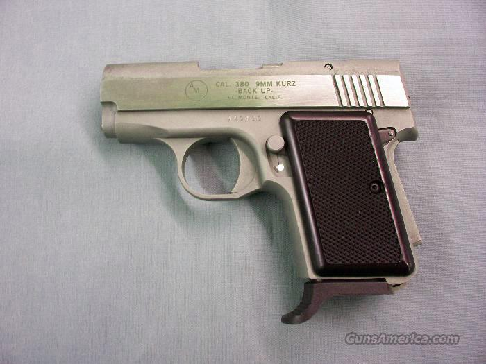 AMT Back-Up .380, 9mm Stainless – Made in USA  Guns > Pistols > AMT Pistols > Double Action